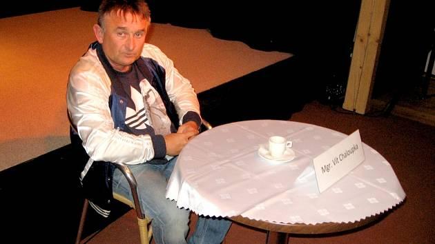 Ve Všeradicích přednášel dietolog Vít Chaloupka