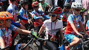 Slavnostní otevření nově značených cyklostezek v Brdech