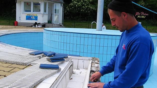 Hořovický aquapark bude otevřen až po opravě