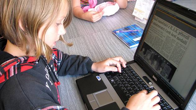 Školáci vyzkoušeli práci novinářů