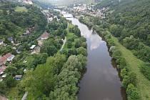 Řeka Berounka - ilustrační foto.