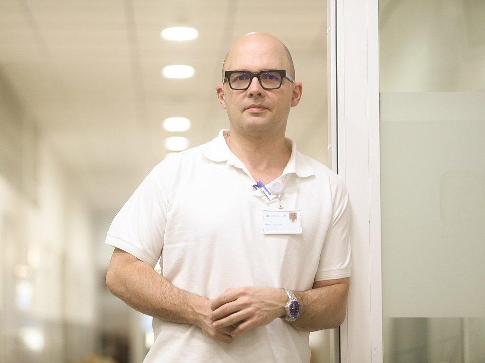 Náměstek léčebné péče v hořovické nemocnici Marek Janka.