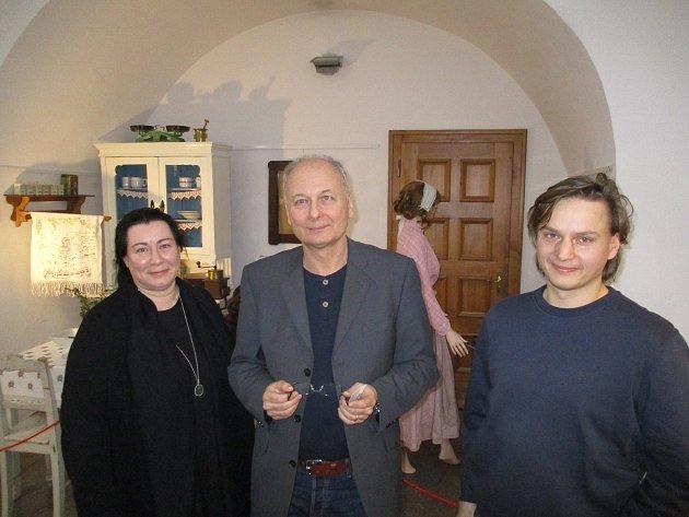 V Muzeu českého krasu v Berouně přednášel Milan Hlavačka z Ústavu politologie Filosofické fakulty Univerzity Karlovy v Praze.