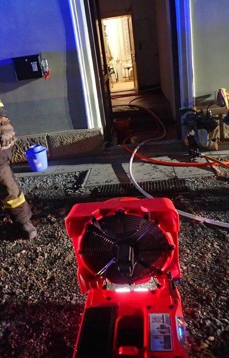 Akumulátorový přetlakový ventilátor Leader BATfan 2.
