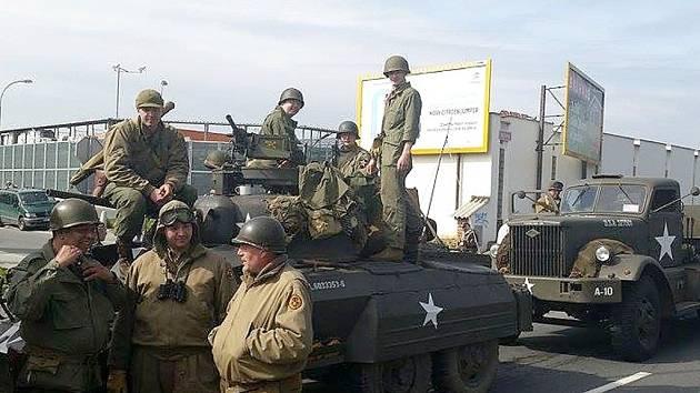 Zdičtí historici se zúčastnili oslav osvobození Plzně americkou armádou v roce 1945