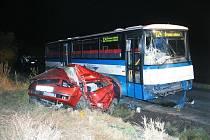 Dopravní nehodu u Trubína řidič fabie nepřežil