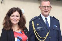 Hejtmanka s ředitelem Celního úřadu pro Středočeský kraj Janem Václavíčkem.