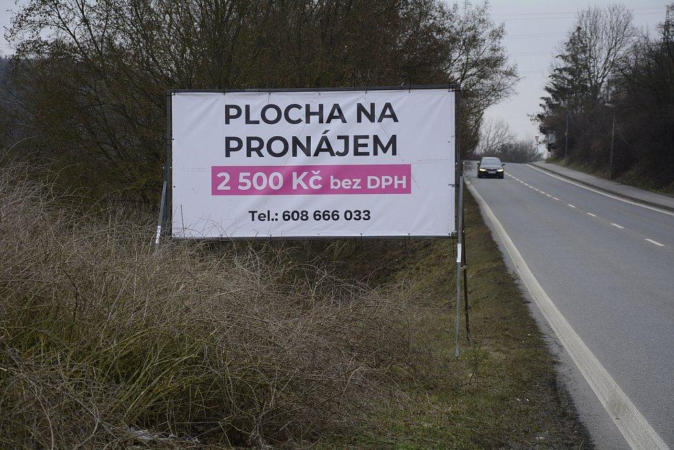 Plocha reklamy před poškozením