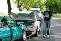 U Hudlic se stala vážná dopravní nehoda