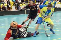 Florbalisté Králova Dvora prohrávají 0:2 na zápasy.