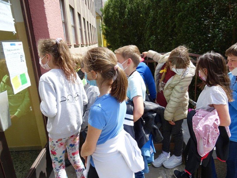 Akce Střípky berounského školství se zúčastnily děti ze školní družiny.
