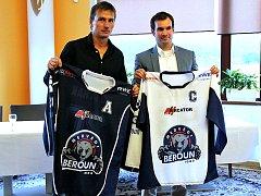Berounský klub představil na předsezonní tiskové konferenci nové dresy.