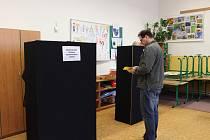 Na Berounsku voliči projevili o druhé kolo prezidentských voleb větší zájem než v prvním kole.