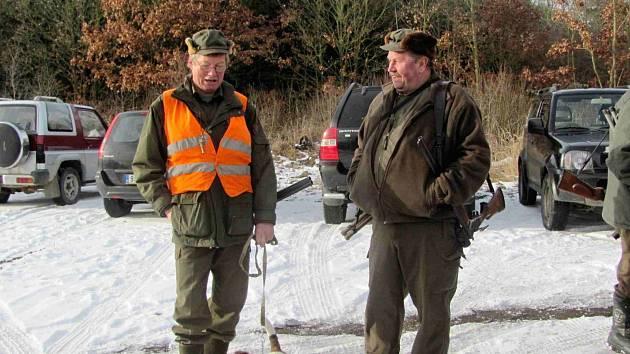 Jan Jirásek (vlevo) s kolegou.