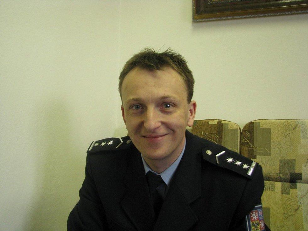 Pavel Zít vedoucí Územního odboru vnější služby Beroun Policie ČR