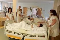 Evakuace v Nemocnici Hořovice