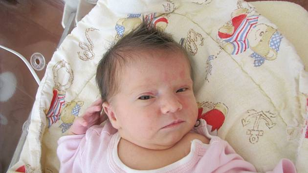 Velkou radost má maminka Gabriela Černá z Hostomic, které se v pondělí 15. 6. narodila prvorozená dceruška Natálka. Po porodu vážila Natálka 2,77 kg a měřila 41 cm. Maminka znala pohlaví svého prvního dítka již dopředu z ultrazvuku.