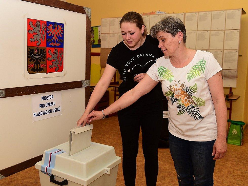 Eurovolby v Králově Dvoře a Berouně.