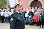 Slib složilo 74 nováčků, kteří nastoupí ke středočeské policii. Na snímku Josef Budil.