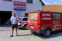 Majitel firmy PAL Reklamy Pavel Losenský.