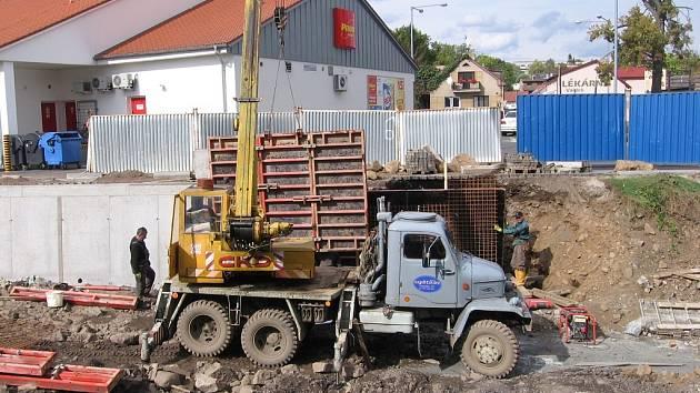 Stavba protipovodňového opatření Hořovic