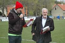 Na utkání fotbalové I. B třídy v rámci projektu Dneska první liga přišlo množství příznivců, kteří viděli výhru hostů 3:2.