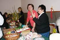 Klub Zvonek pořádal velikonoční výstavu.