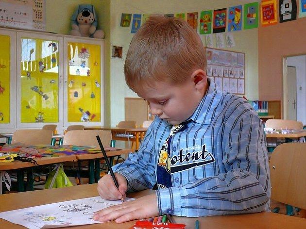 Zápis na Základní škole v Loděnici