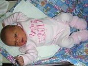 KRÁSNÁ holčička Eliška se narodila 8. září 2017 rodičům Lucii Kortusové a Romanovi Ficnarovi z Berouna. Prvorozená Eliška, kterou rodiče přivedli na svět společně, vážila po porodu 2,90 kg a měřila 46 cm.