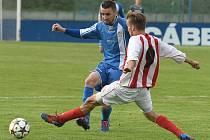 Kapitán Milan Petr se z gólu v Chrudimi neradoval