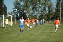 Fotbalový okresní přebor: Hořovicko B - Trubín 1:1.