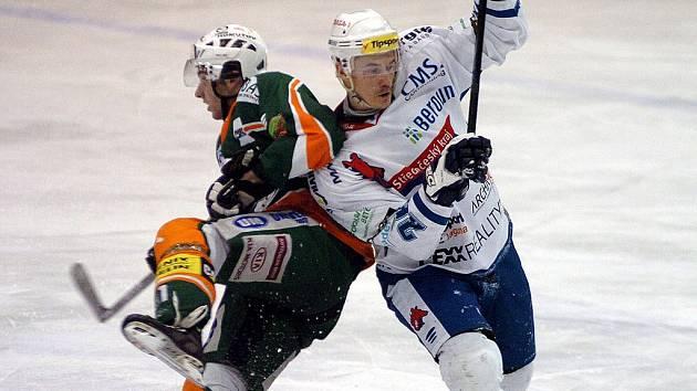 Berounští hokejisté prohráli v Mostu 3:1