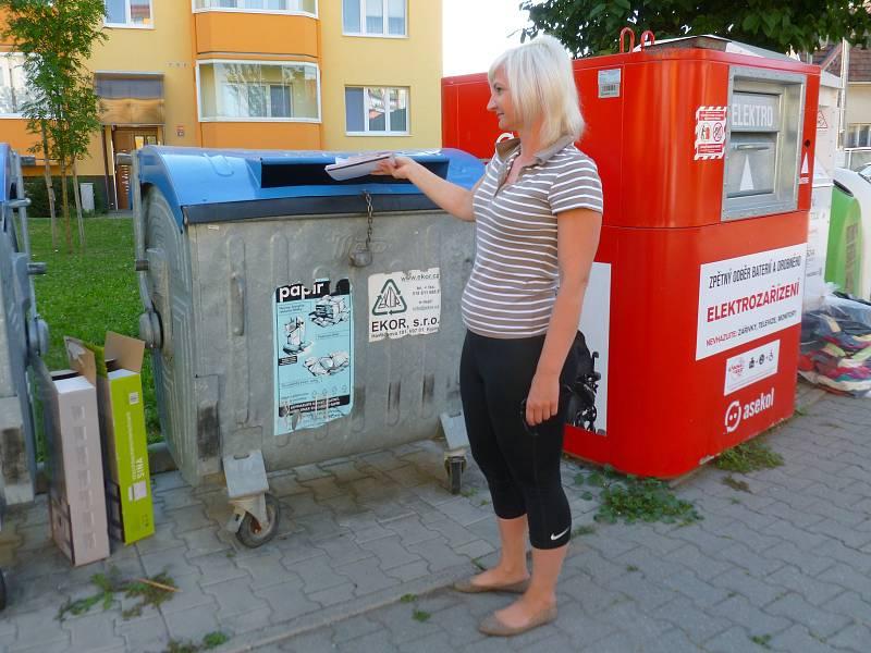 Třídění odpadu. Ilustrační foto.