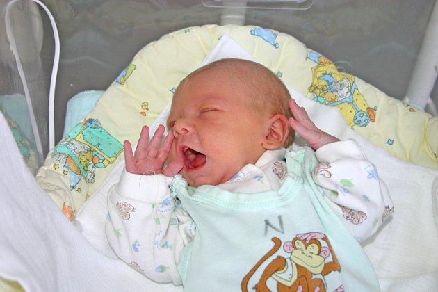 Dominik Mizera, narozen 8.8. 2008, Osek
