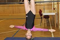 Soutěž berounských gymnastek.