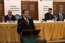 Luboš Zálom, místopředseda strany Svobodní a městský zastupitel v Berouně.