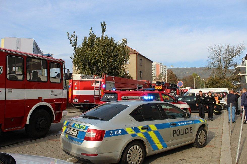 Zásah v Komunitním centru v Berouně kvůli vznícení oleje na pánvi v kuchyňce azylového domu.