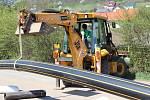 V současné době je uzavřena silnice z Berouna na Zahořany. Dělá se zde plynová přeložka a pak se bude rozšiřovat komunikace.
