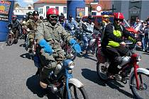Loni se Spanilé jízdy zúčastnilo na 400 mopedistů, letos se očekává podobná účast.