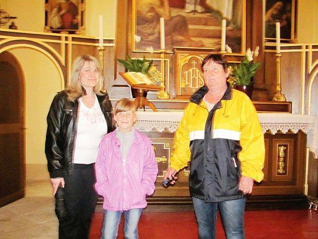 Ve Stradonicích otevřeli opravenou kapličku