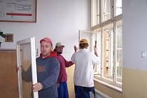 Výměna oken není jediná investice do rekonstrukce školy