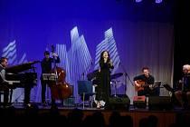 Z koncertu Radky Fišarové.