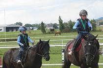 V Tlustici se konaly jezdecké hobby závody