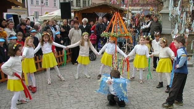 Děti se pyšnily nápaditými kostýmy.
