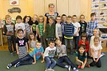 Prvňáčci ze 2. základní školy Hořovice ve školním roce 2019/2020.