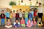 2. třída Mateřské školy ve Tmani.