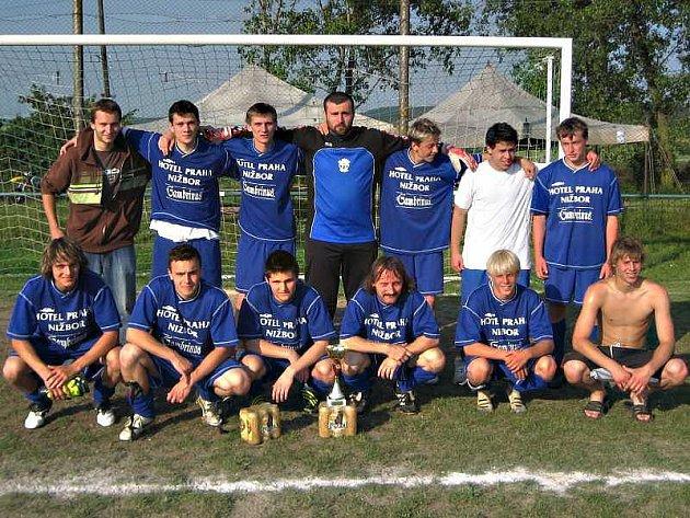 Turnaj v Chyňavě vyhráli fotbalisté Nižbora