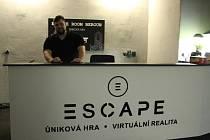 Escape Beroun provozuje únikovou hru a nově i virtuální realitu.