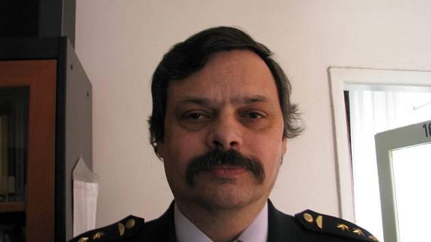 on-line s ředitelem berounských hasičů Milanem Novákem