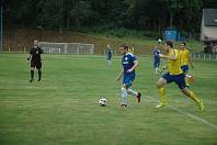 Hořovicko (v modrém) získalo bod a v neděli cestuje do Sedlčan.